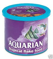 Aquarian 200g Tropical Fish Flake Aquarium Tank Freshwater Tetra guppys
